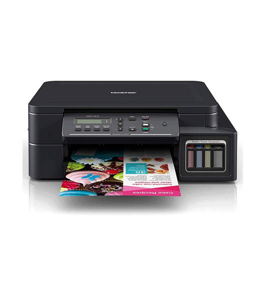 Picture of Brother Inkjet Compact 3 in 1 Color  Printer (DCP-T310)