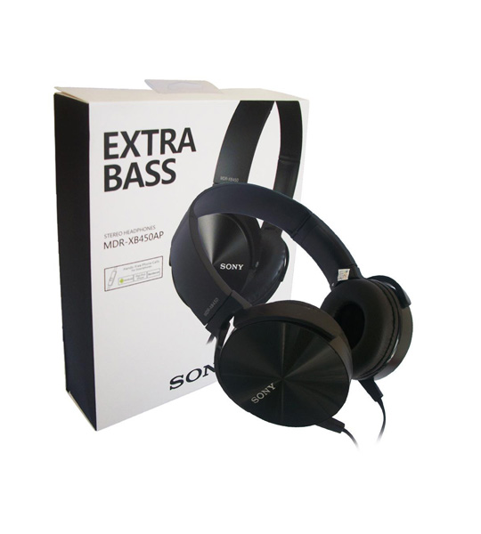 Picture of Sony  Extra Bass Smartphone Headset (MDRXB450AP)